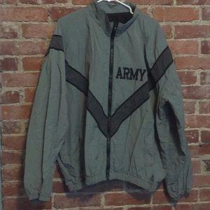 Other - US Army athletic jacket/windbreaker size large